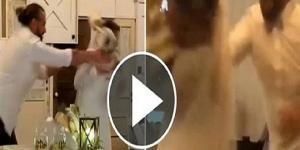 بريطانيا : عريس يضرب عروسته بالتورته ليلة الزفاف