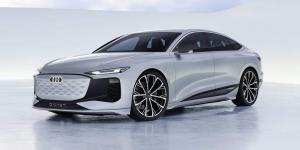 أودي تشوق لمستقبل السيارات الكهربائية عبر A6 E-Tron