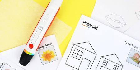 Polaroid صنعت قلمًا يتيح لك رسم قطع الحلوى