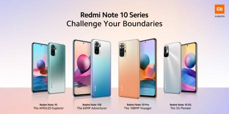 شاومي تعلن عن هواتف Redmi Note 10