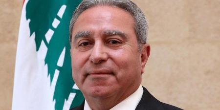 مشرفية بحث مع وزير الادارة المحلية السوري في عودة اللاجئين