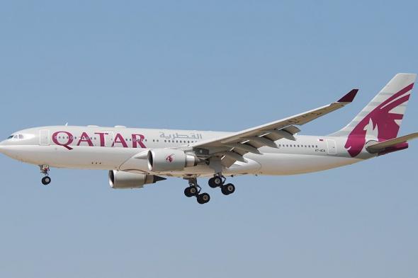 طائرة قطرية تحلق فوق الأجواء السعودية بعد فتح الحدود