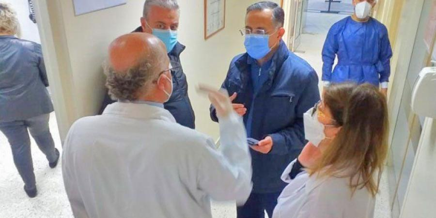 انطلاق عملية التطعيم في مستشفى طرابلس