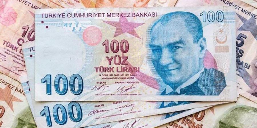 هبوط الليرة التركية أمام الدولار واليورو