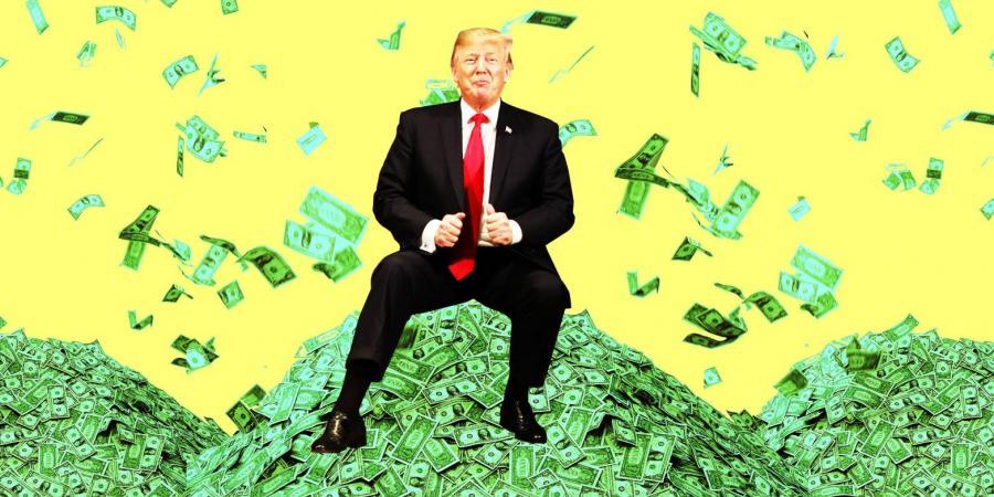 ثروة ترامب مستمرة بالتراجع
